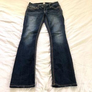 Silver Jeans Co Tuesday Boot Cut Size 30
